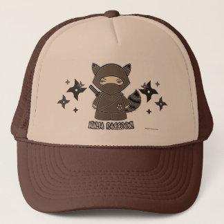 Ninja Raccoon! With Shurikens Hat