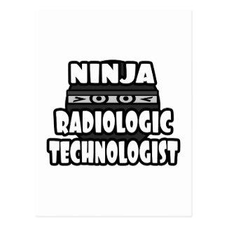 Ninja Radiologic Technologist Postcards