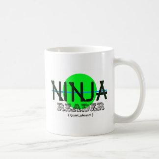 Ninja Reader Coffee Mug
