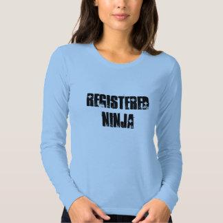 Ninja registrado (BSN, RN) Playeras