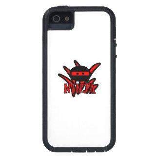 Ninja rojo iPhone 5 funda
