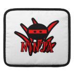 Ninja rojo fundas para iPads