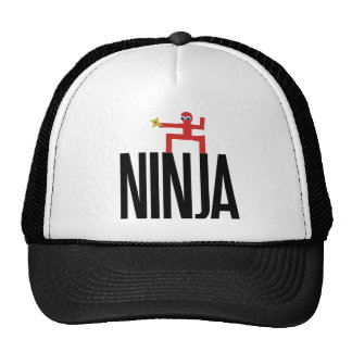 Ninja rojo gorro
