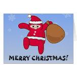 ¿Ninja Santa? ¡Felices Navidad! Felicitaciones
