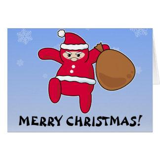 Ninja Santa? Merry Christmas! Card