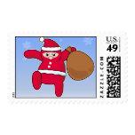 Ninja Santa? Merry Christmas! Postage