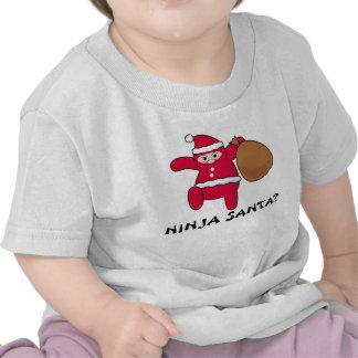 ¿Ninja Santa? Camiseta