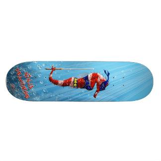 Ninja Seahorse Skateboard