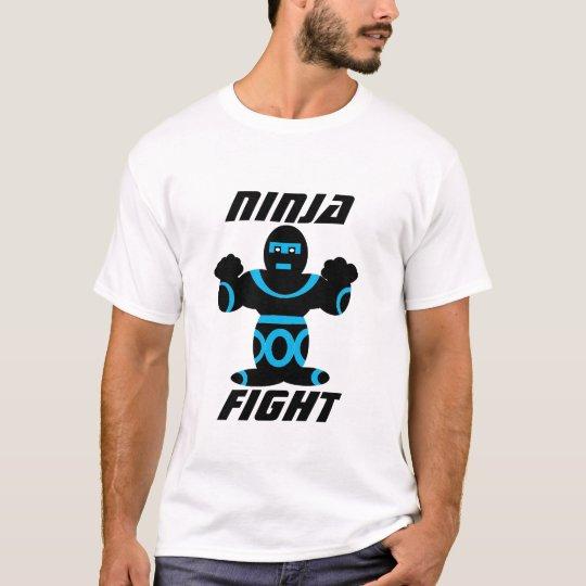 "Ninja Shirt ""NINJA FIGHT"" -Waseemy Creation"