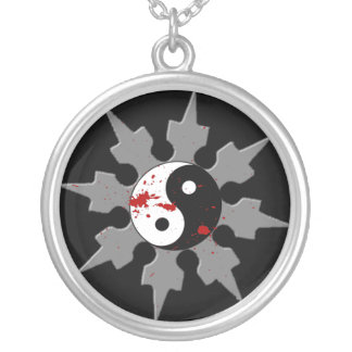 Ninja Shuriken Necklace