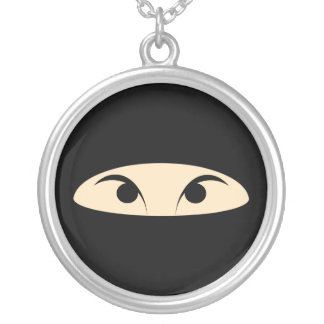 Ninja Silver Plated Necklace