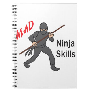 Ninja Skills Spiral Notebook