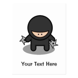 Ninja Skillz Postcard