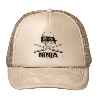 Ninja Skull Hats