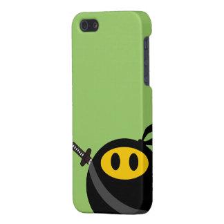Ninja smiley face iPhone SE/5/5s case