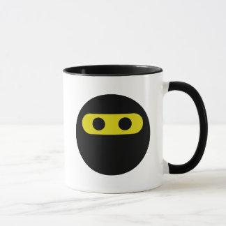 Ninja Smiley Mug