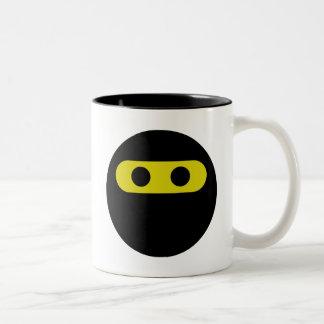 Ninja Smiley Two-Tone Coffee Mug