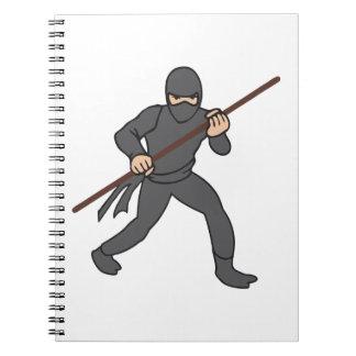 Ninja Spiral Notebook