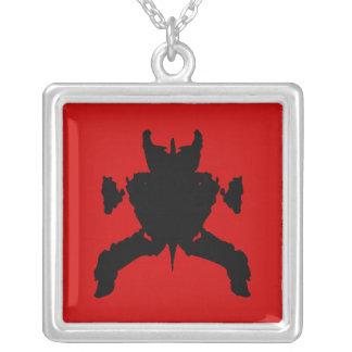 Ninja Square Pendant Necklace