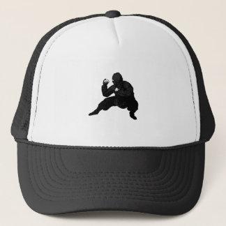 Ninja Squat Trucker Hat