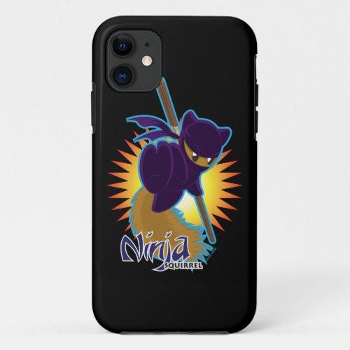 Ninja Squirrel Phone Case
