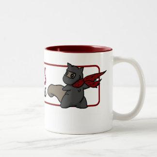 Ninja Squirrel Mug