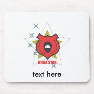 ninja star.ai alfombrilla de ratón