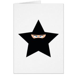 Ninja Star Card