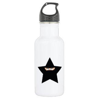 Ninja Star Stainless Steel Water Bottle