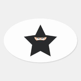 Ninja Star Sticker