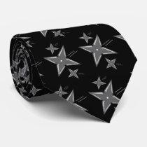 Ninja Star Tie tie