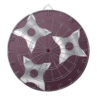 Ninja Stars Weapon vector Dart Boards