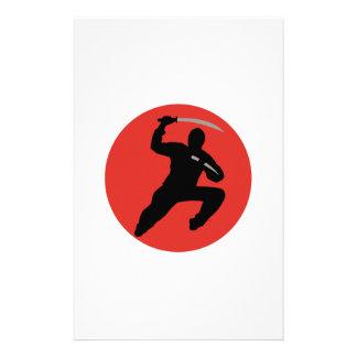 Ninja Stationery