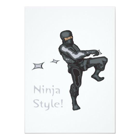 Ninja Style Card