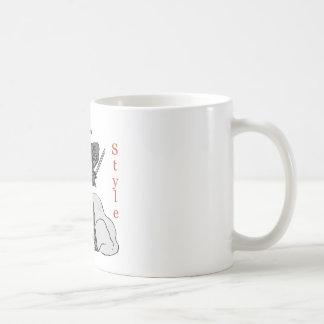 Ninja-Style Classic White Coffee Mug