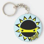 Ninja sun key chain