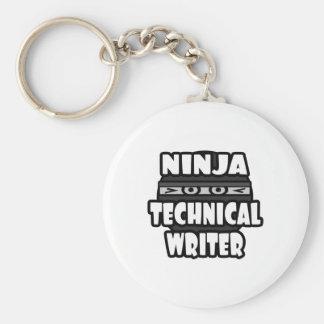 Ninja Technical Writer Key Chain