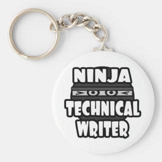 Ninja Technical Writer Key Chains