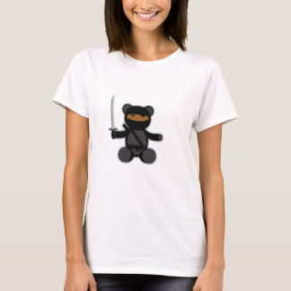 Ninja Teddy Bear T-Shirt