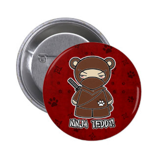 Ninja Teddy! In Red Button