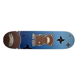 Ninja Teddy! Skateboard