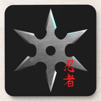 Ninja Throwing Star Coasters