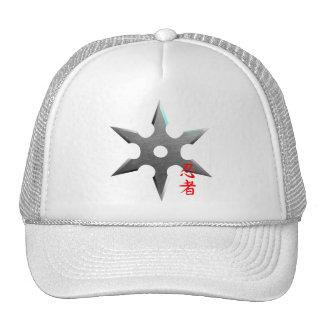 Ninja Throwing Star Trucker Hat