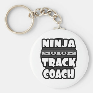 Ninja Track Coach Keychain