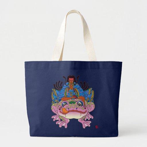 Ninja Tsukikage 忍者月景 Jumbo Tote Bag