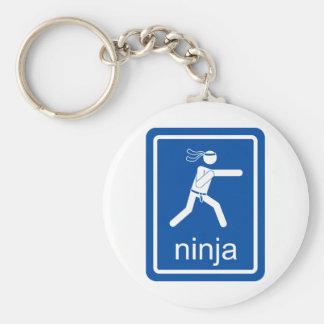 ninja universal sign keychain