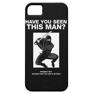 ¿Ninja - usted ha visto a este hombre iPhone 5 Case-Mate Carcasas
