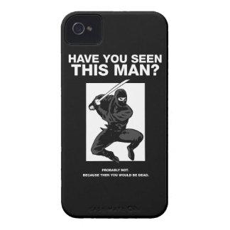¿Ninja - usted ha visto a este hombre iPhone 4 Funda