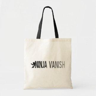 """""""Ninja Vanish"""" Budget Tote Bag"""