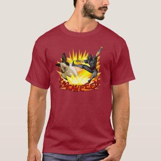Ninja vs. Bunny Men's Shirt (dark fabric)